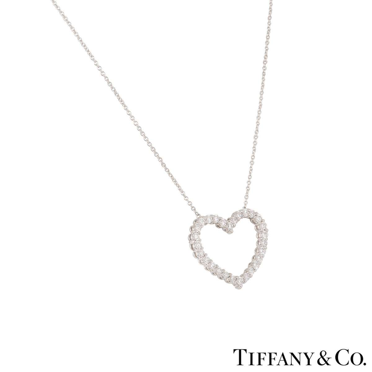 Tiffany & Co. Diamond Heart Pendant